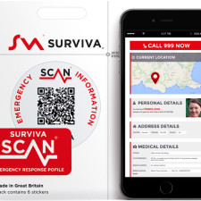 Surviva Scan Stickers
